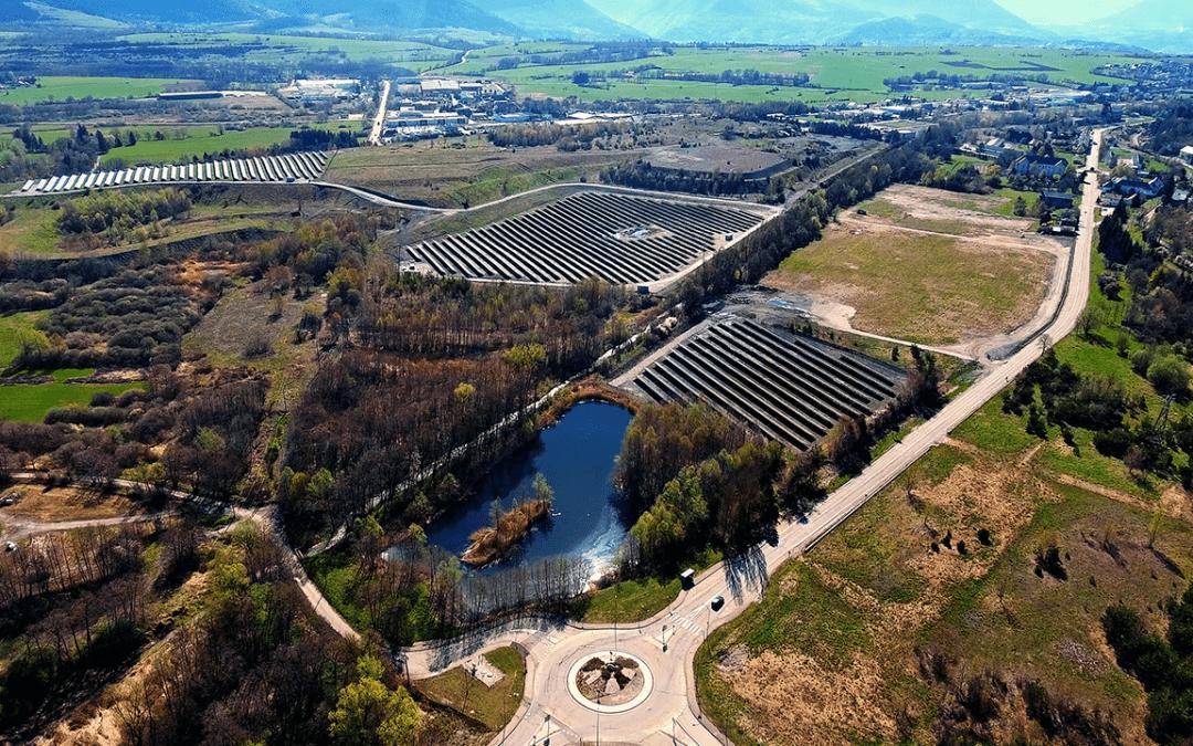 Inauguration du parc photovoltaïque (5 MWc) de Susville, en Isère